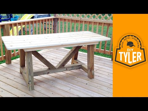 6ft 4x4 Truss Picnic Table 002