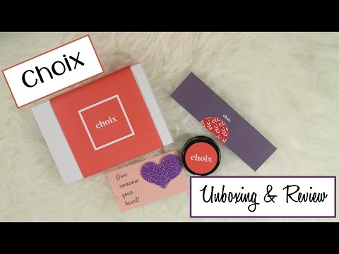 Choix   Unboxing + Review