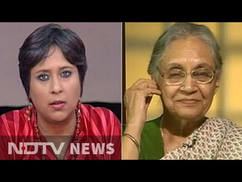 Am no scapegoat: Sheila Dikshit to NDTV on running for Chief Minister