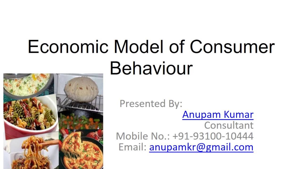 models of consumer behaviour pdf