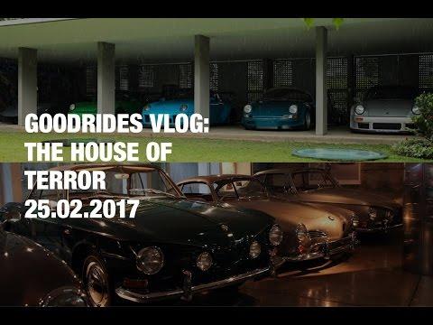 GOODRIDES VLOG  THE HOUSE OF TERROR 25.02.2017