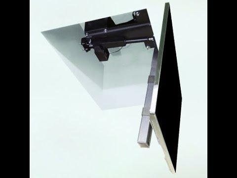 📺 Когда сложно найти место для телевизора на стене: выбираем потолочное крепление