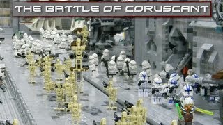 LEGO Star Wars : The Battle Of Coruscant - Collaboration MOC!