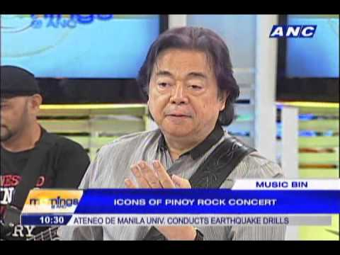 Pepe Smith, Ely Buendia in Pinoy Rock n' Roll Hall of Fame