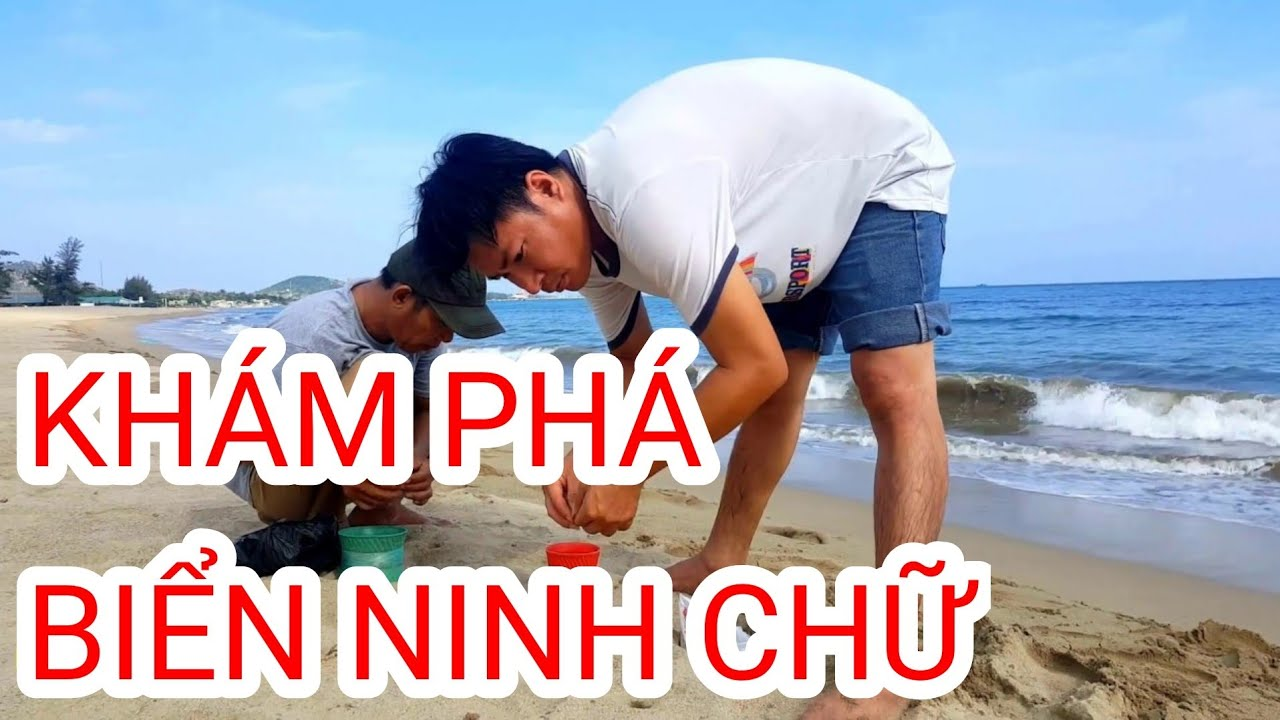 Đi dạo Biển Ninh Chữ   BKB CHANNEL