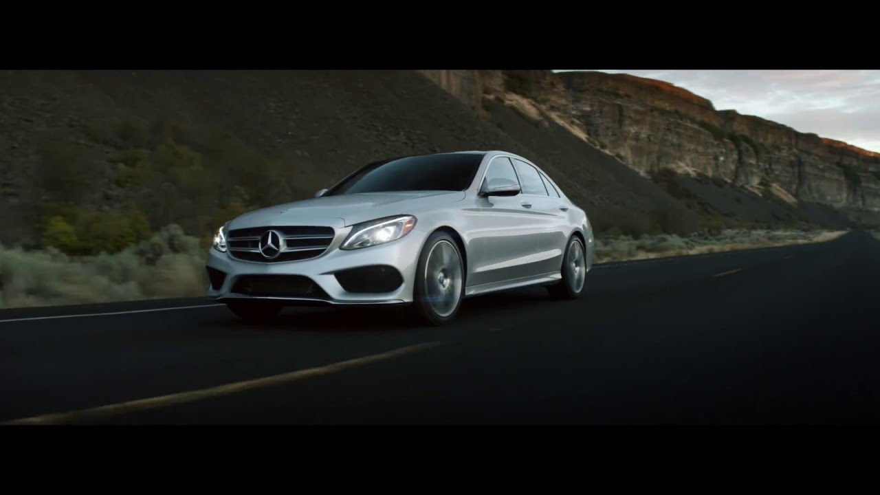 The new mercedes benz c class commercial mercedes benz for Mercedes benz new advert