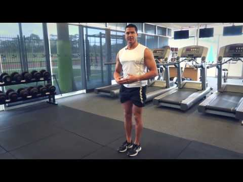 Standing Side Leg Raise  (Exercises.com.au)