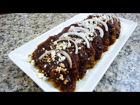 Receta enchiladas potosinas mexican food easy recipes youtube forumfinder Choice Image