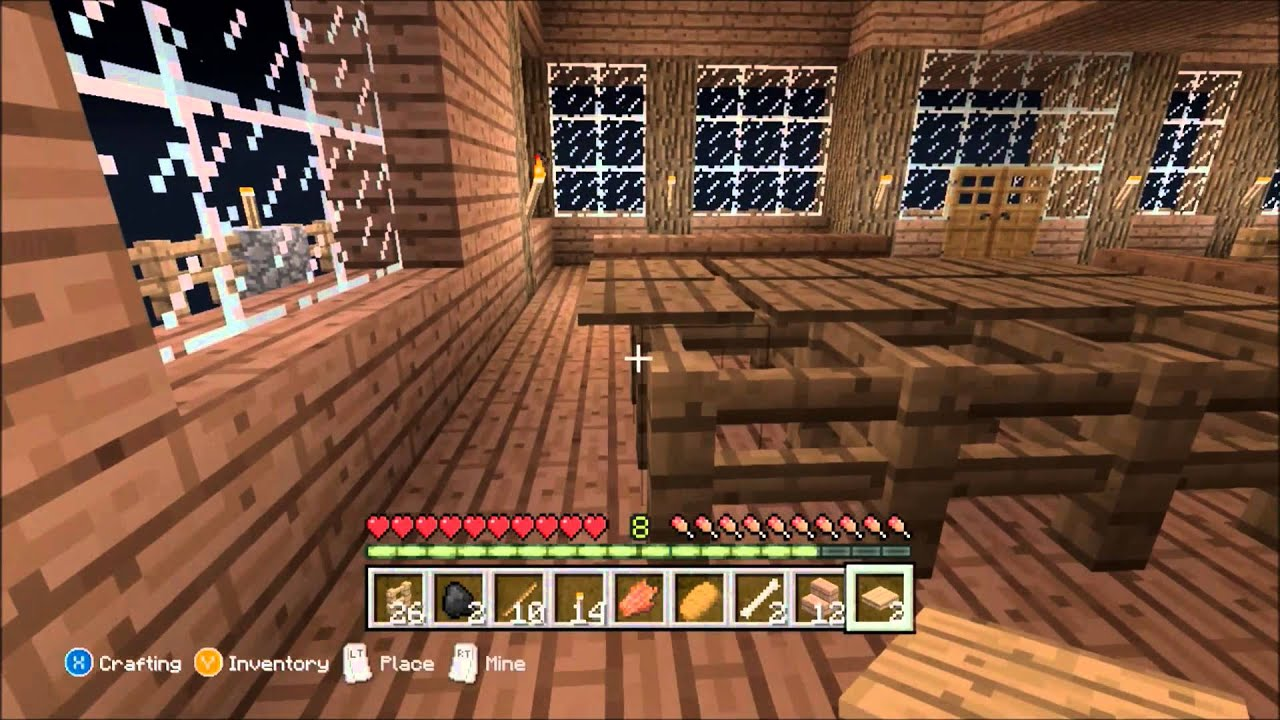 how to make a treehouse in minecraft pe