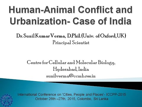 Human-Animal Conflict and Urbanization- Case of India
