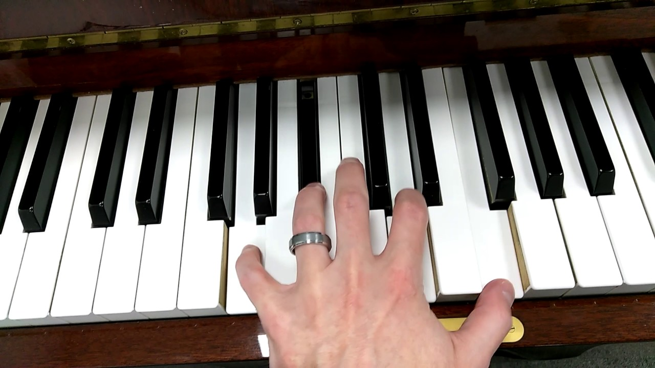 How to play a g minor 7 chord on piano youtube how to play a g minor 7 chord on piano hexwebz Gallery