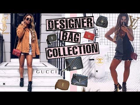 My Designer Handbag Collection!! + NEW BAG REVEAL!! || Tashietinks