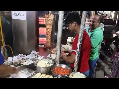 Mohammedia shawarma the best shawarma (STREET FOOD) in city.