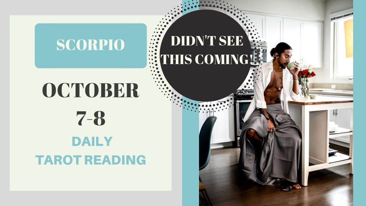 Reading the Year Ahead for Scorpio