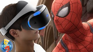 KwingReviews React | E3 2016 SONY FULL Conference Feat. BATMAN & SPIDERMAN