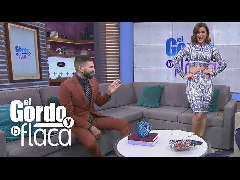 """Jomari cree que el vestido de Clarissa Molina le funciona porque tiene curvas de """"jarroncito""""   GYF"""