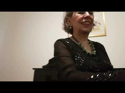 Juana Zayas dopo il concerto milanese del 7 marzo 2019