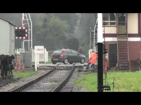 Commissioning Of Signals At Rawtenstall West Level Crossing