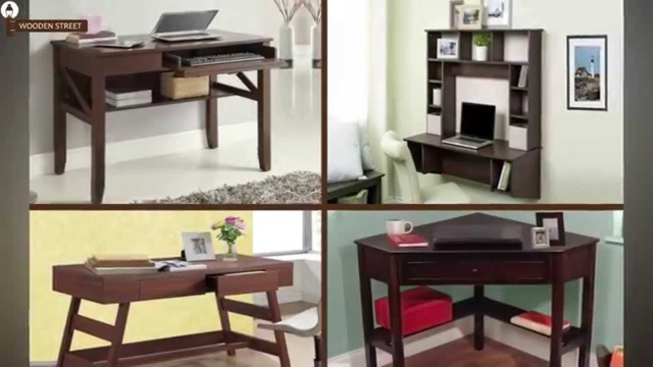 Study Table   Buy Study Table Online Or Explore Study Table Designs @  Wooden Street   YouTube