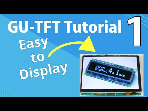Noritake GU-TFT Tutorial | Part 1: Displaying an Image with GU-TFT Tool