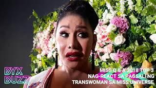 Miss Q & A Top 2 Juliana & Matmat di pabor sa pagsali ng transwoman sa Miss Universe; Lars loves Kim