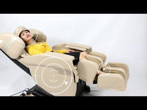 Thư giãn mọi lúc với Ghế massage toàn thân Kingsport GC105B-1
