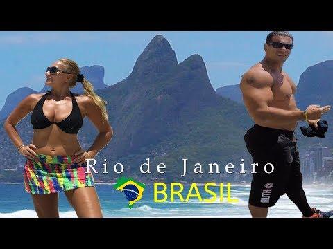 Rio de Janeiro BRAZIL ➤ Copacabana beach → Ipanema beaches → Corcovado → Sugarloaf  → Favelas