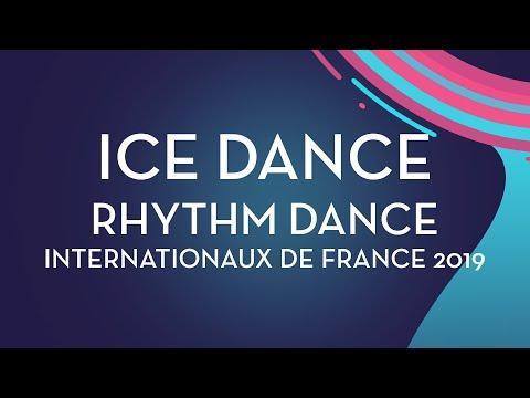 Ice Dance Rhythm Dance | Internationaux De France 2019 | #GPFigure