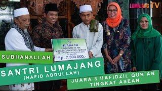 Santri Lumajang Juara 3 Hafidzil Qur'an Tingkat ASEAN