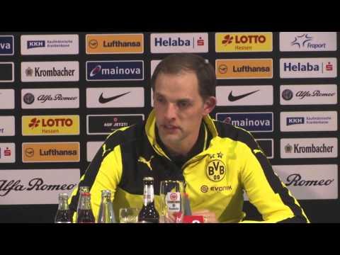 Thomas Tuchel nach der Niederlage gegen Frankfurt | Eintracht Frankfurt - BVB 1:0