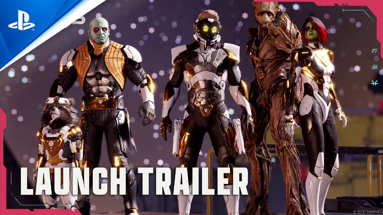 Download Marvel's Guardians of the Galaxy - Trailer de lancement - VF   PS4, PS5
