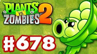Sling Pea! New Plant! Mastery Feature! - Plants vs. Zombies 2 - Gameplay Walkthrough Part 678