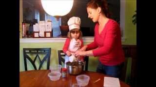 How to Make No-Bake Tropical Strawberry Shakeology Granola Oat Bars