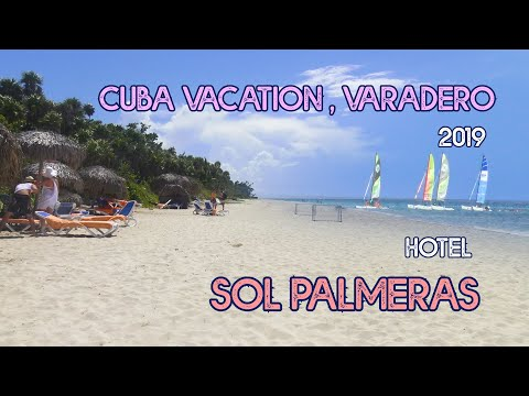 Cuba Vacation, Varadero - Hotel Sol Palmeras - the restos, the food, the pool, the beach