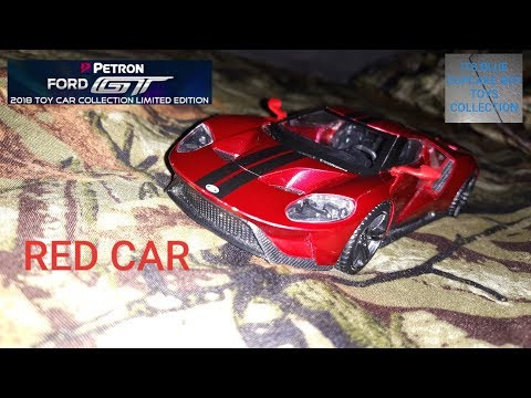 Petron Ford GT Toy Car Collection Red Car Toys Review