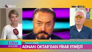 Eski kedicik Ceylan Özgül ve Adnan Oktar'ın abisi canlı yayında birbirine girdi!