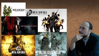 "Gaming History: Metal Gear #3 ""Reborn"""