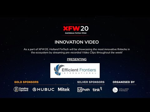 Innovation Video - Efficient Frontiers International