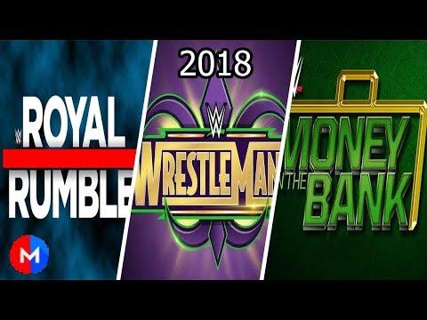WWE PPV Theme Songs 2018 (Part 1) || Canciones de evento WWE 2018 parte 1