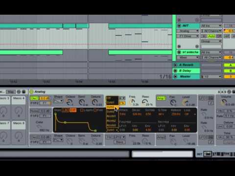 How to Make Big Sounding Trap Leads in Ableton's Analog