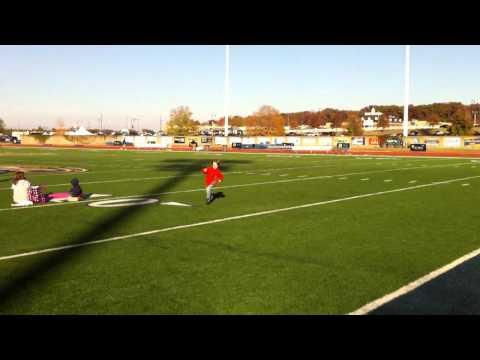 Walt Running at Roy Stewart Stadium HD