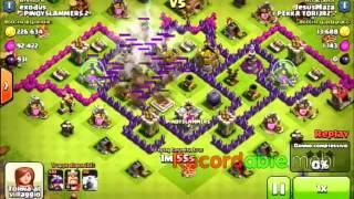 ATTACCO CON 10 DRAGHI AL 3 clash of clans by Jesus