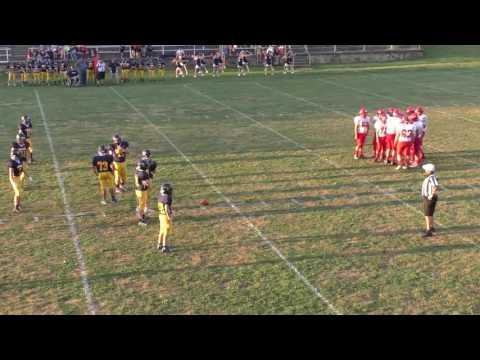 Spencer Middle School Football vs  Calhoun County Middle School 9/8/2016
