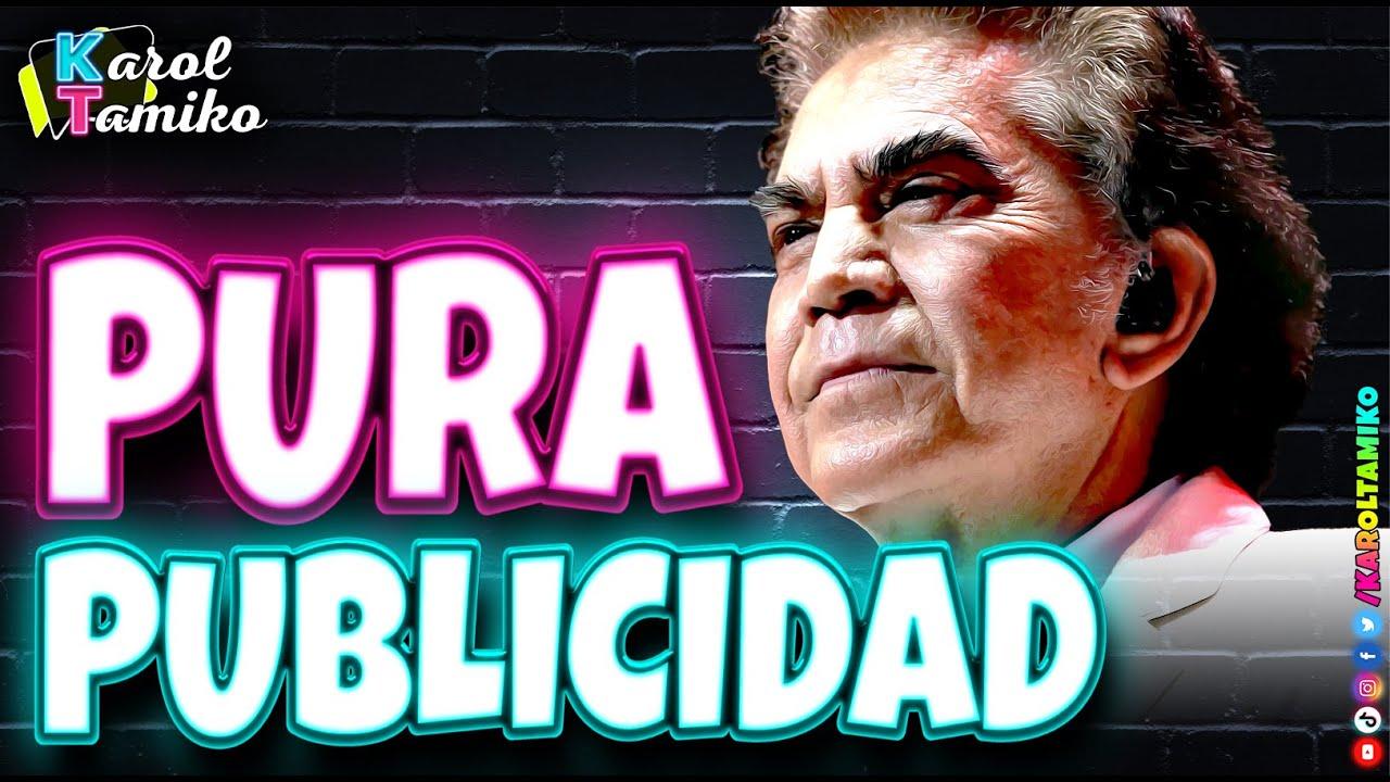 Jose Luis Rodriguez El Puma lo de los gemelos es publicidad