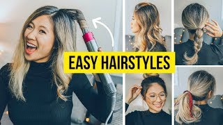 5 Hairstyle Ideas You Must Try! Dyson Airwrap Hacks!