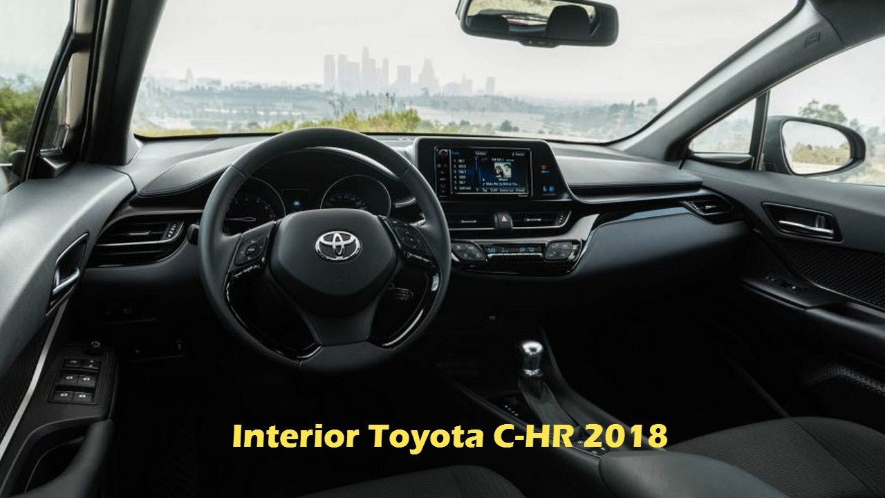 2018 toyota c hr interior and toyota c hr exterior design youtube. Black Bedroom Furniture Sets. Home Design Ideas