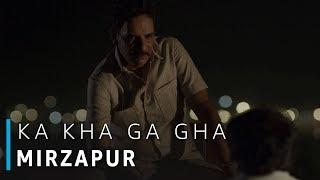 क ख ग घ of Mirzapur (Rated 18+) Scene | Pankaj Tripathi, Divyendu Sharma, Shubrajyoti Bharat