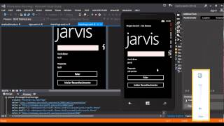 Jarvis - Speech Recognition - App Windows Phone