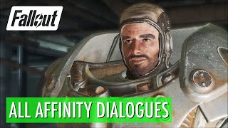 Fallout 4 - Paladin Danse, All Affinity Dialogues