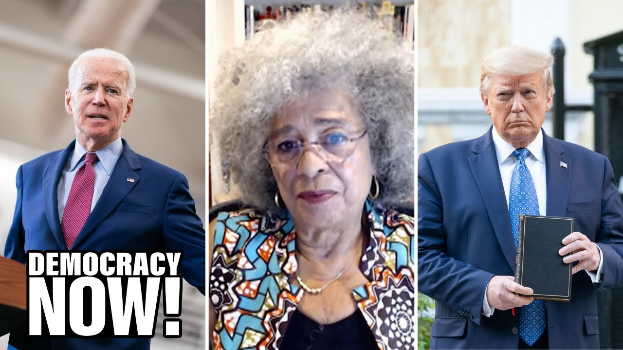 "Angela Davis: Biden The ""Candidate Who Can Be Most Effectively ..."